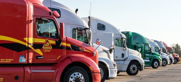 long distance movers ohio and their truck fleet
